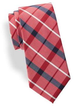 Lord & Taylor The Mens Shop Plaid Silk-Blend Tie
