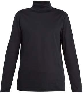 A.P.C. Cyril high-collar cotton T-shirt