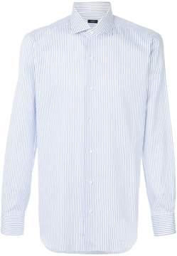 Barba classic striped shirt