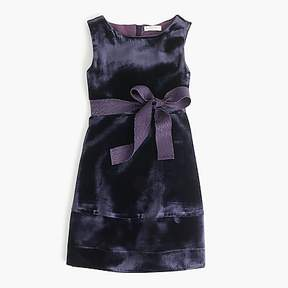 J.Crew Girls' velvet dress