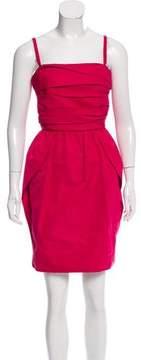 Lida Baday Pleated Mini Dress