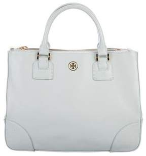 Tory Burch Robinson Double Zip Tote - BLUE - STYLE
