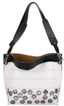 Loewe Patterned Strip Shoulder Bag