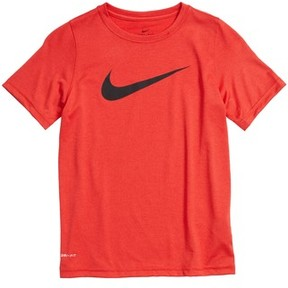 Nike Boy's Dry Swoosh T-Shirt