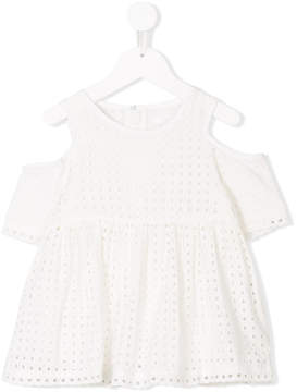 Chloé Kids cold shoulder top