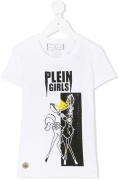 Philipp Plein Junior embellished Plein Girls T-shirt