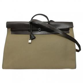 Hermes Herbag cloth 24h bag - BROWN - STYLE