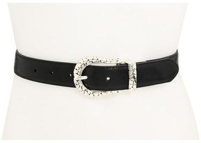 Brighton Le Beau Hearts Reversible Belt Women's Belts