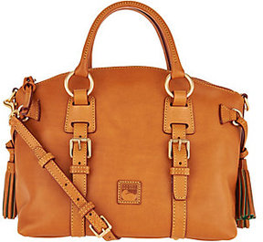 Dooney & Bourke As Is Florentine Leather Bristol Satchel - ONE COLOR - STYLE