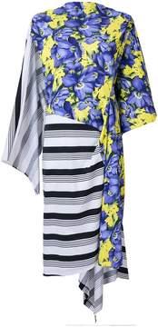 Balenciaga Bal Asymmetric Dress