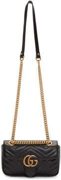 Gucci Black Mini Leather Marmont 2.0 Shoulder Bag