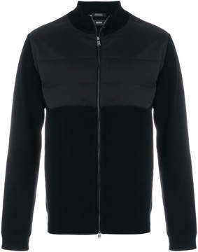 HUGO BOSS fitted zip up jacket