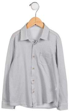 Il Gufo Boys' Striped Button-Up Shirt