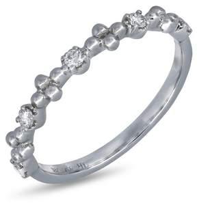 Bony Levy 18K White Gold Diamond Dot Ring - 0.13 ctw
