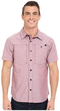 Black Diamond Short Sleeve Chambray Modernist Shirt