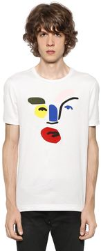 John Booth Face Patches Jersey T-Shirt
