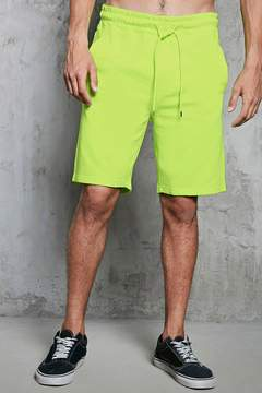 21men 21 MEN Heathered French Terry Shorts