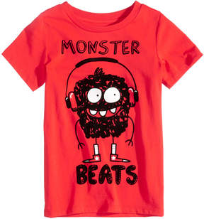 Epic Threads Monster Beats Graphic-Print T-Shirt, Toddler Boys (2T-5T), Created for Macy's