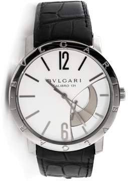 Bulgari Power Reserve 101870 Stainless Steel Mens Watch