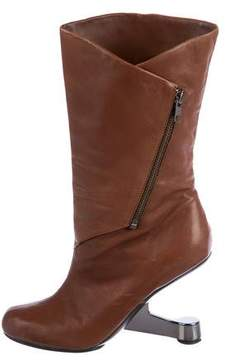 United Nude Leather Mid-Calf Boots