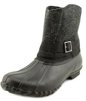 Chooka Step-in Duck Boot Herringbone Round Toe Leather Hunting Boot.