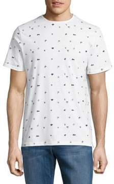Sovereign Code Floriano Printed Tee