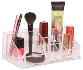 Clear 16-Compartment Cosmetic Organizer