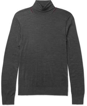 Joseph Mélange Merino Wool Rollneck Sweater