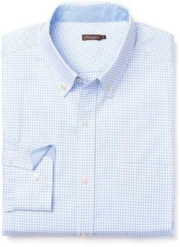 J.Mclaughlin Carnegie Regular Fit Shirt in Mini Check