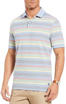 Daniel Cremieux Siro Pique Striped Short-Sleeve Polo Shirt