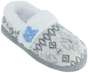 NCAA Women's North Carolina Tar Heels Snowflake Slippers