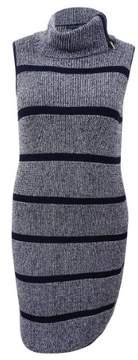 Tommy Hilfiger Women's Striped Cowl-Neck Sweater Dress