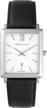 Larsson & Jennings LJ-W-NRS-SW40-L Norse stainless steel and leather watch