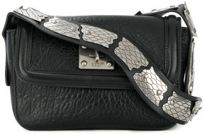 RED Valentino snake-embellished shoulder bag