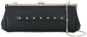 Red Valentino stars studded clutch