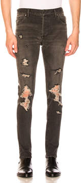 Balmain Destroyed 6 Pocket Jeans