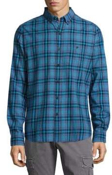 Michael Bastian Plaid Button-Down Shirt