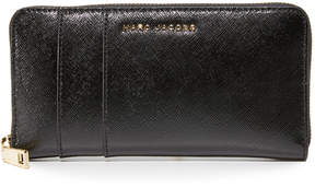 Marc Jacobs Standard Continental Wallet - BLACK/BERRY - STYLE
