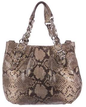 MICHAEL Michael Kors Embossed Leather Tote - ANIMAL PRINT - STYLE