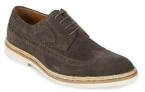Kenneth Cole Reaction Long Wing Brogue Leather Derbys