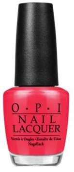 OPI Nail Lacquer Nail Polish, Red.