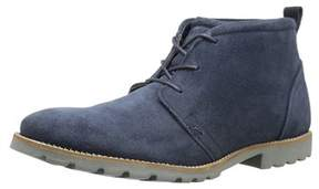 Rockport Men's Charson Lace-up Chukka Boot, Navy Suede, Size 10.5.