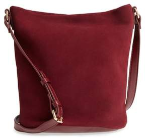 Sole Society Lana Slouchy Suede Crossbody Bag