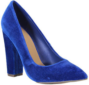 Bamboo Blue Madam Pump