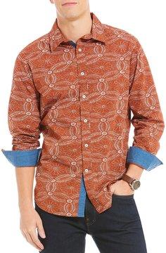 Daniel Cremieux Jeans Printed Long-Sleeve Woven Shirt