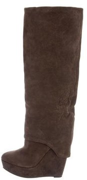 Elizabeth and James Suede Knee-High Boots