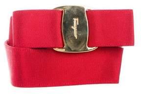 Salvatore Ferragamo Grosgrain Vara Bow Belt