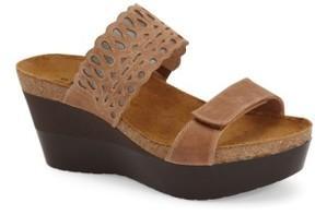 Naot Footwear Women's 'Rise' Platform Wedge Sandal