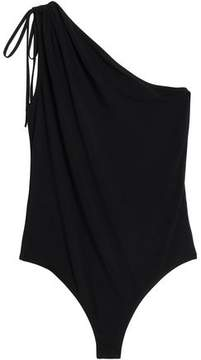 Bailey 44 One-Shoulder Gathered Stretch-Jersey Bodysuit