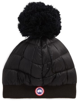 Canada Goose Women's Quilted Down Pom Beanie
